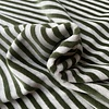 De Stoffenkamer Nicky Velours Stripes grey//Khaki