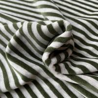 Nicky Velours Stripes grey//Khaki