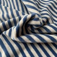 Nicky Velours Stripes grey//Blue