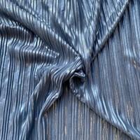 Plisse blue shimmer