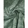 De Stoffenkamer Rekbare badstof - spons donker grijsgroen