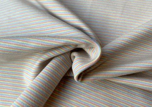 De Stoffenkamer Tricot Summer Pastel Stripes