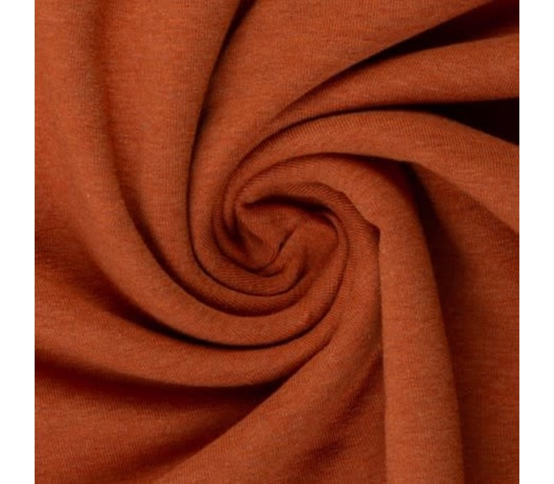 Tricot Cotton Melange rust