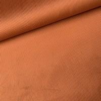 Fluweel Velvet Rib Rust