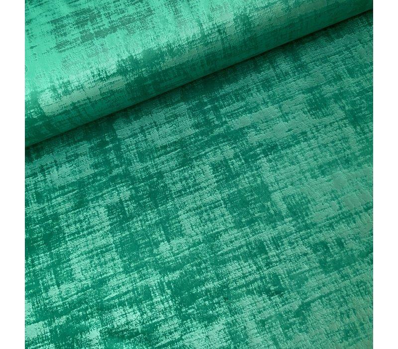 Fluweel Velvet Green Den Flock