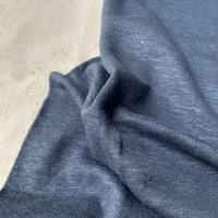 Linen Jersey Denimblue