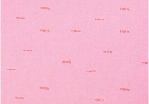 Rico Cotton Pink Neon Dashes