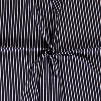 Linen Mix Stripes Navy