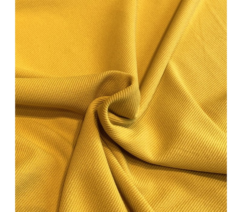 Structuur Tricot Yellow Curry