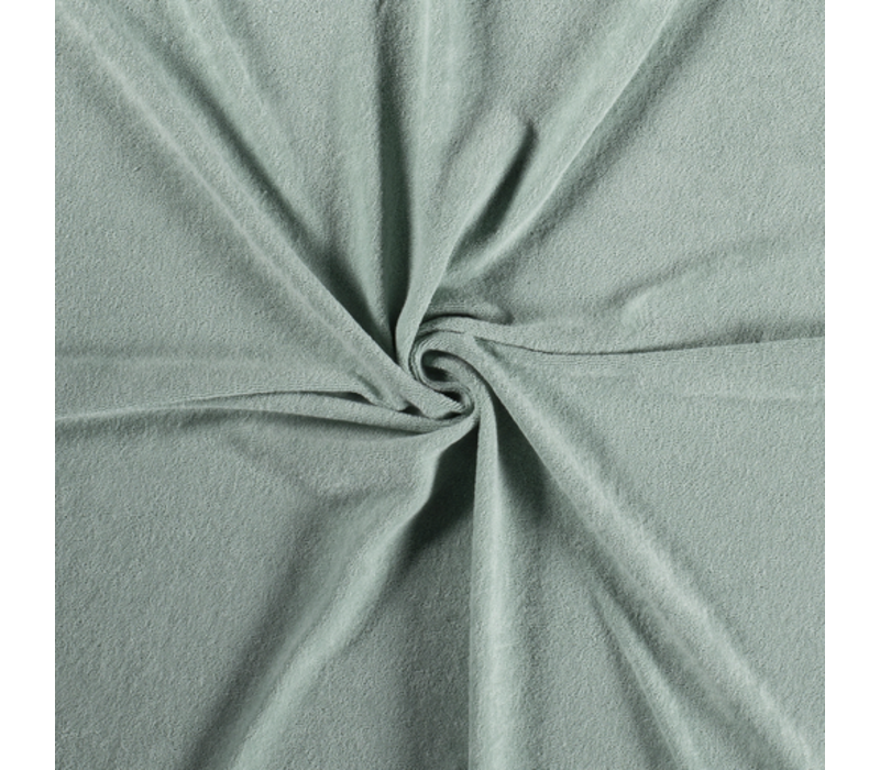 Rekbare badstof - spons mint