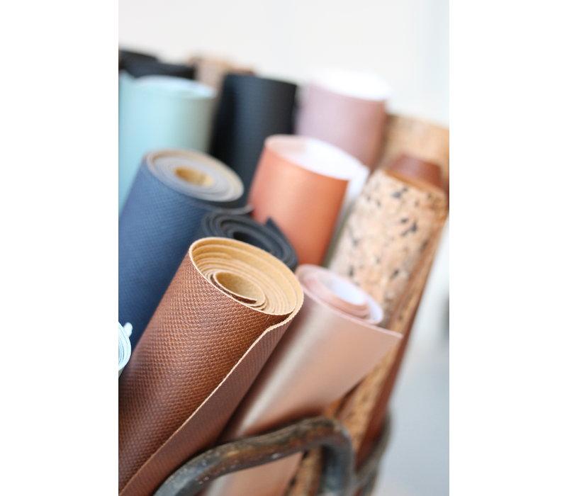 Faux-Leather Pre-cut Blue