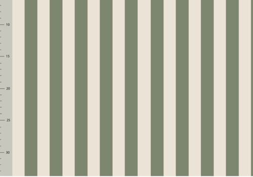 Elvelyckan Bio tricot - Vertical Green