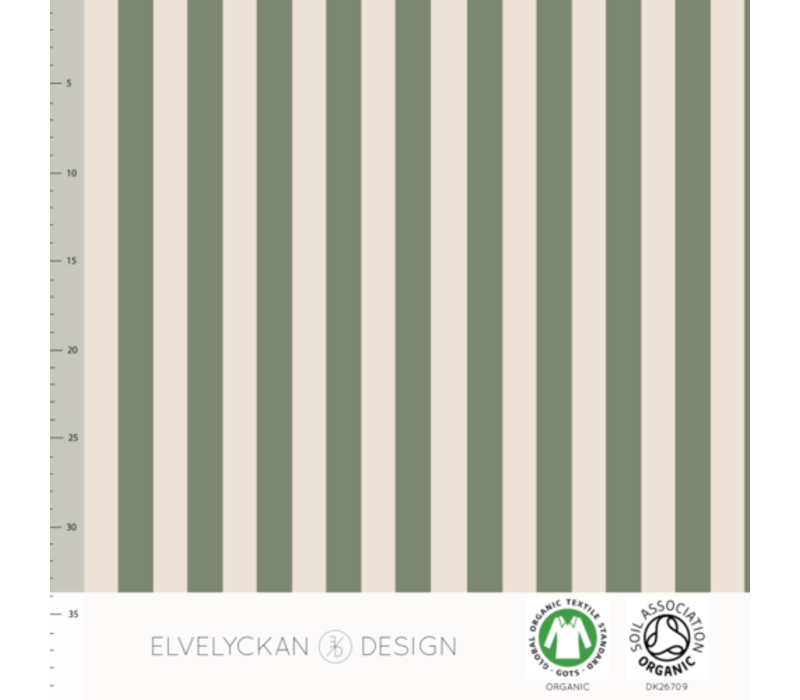 Bio tricot - Vertical Green