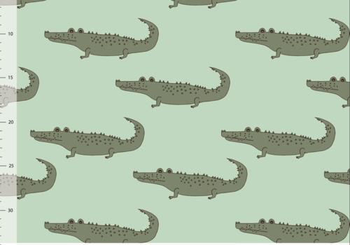 Elvelyckan Bio tricot - Crocs Neo Mint