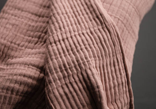 merchant&mills Cotton - Edie Pink Wobble Gauze
