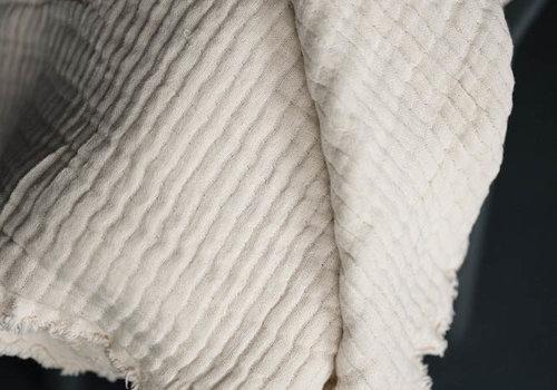 merchant&mills Cotton - White Swan Wobble Gauze