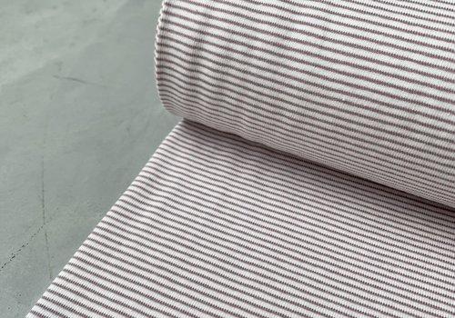 Stenzo Tricot Mini stripes Old pink