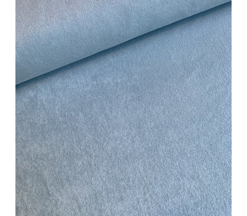 Rekbare badstof - spons Muntblauw