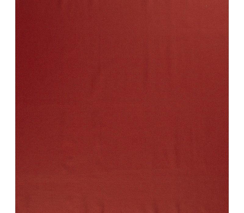 Linen Mix Brick Rust