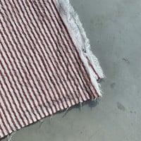 Seersucker Mix Cotton Red