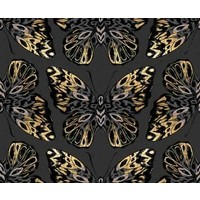 Canvas Ruby Star - Tiger Fly Butterfly Metallic