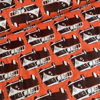 Summer Orange Volkswagen Vans