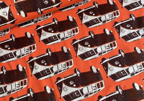 De Stoffenkamer Summer Orange Volkswagen Vans