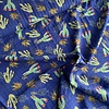 Cotton Viscose mix Royal Cactus