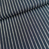 De Stoffenkamer Linen Mix Stripes navy