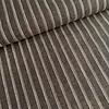 De Stoffenkamer Linen Mix Stripes Brown Melange