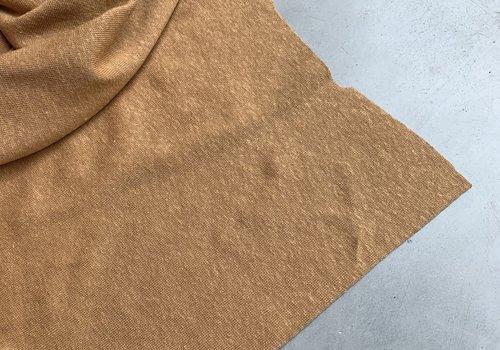 La Maison Victor Linen Jersey Dusty Camel