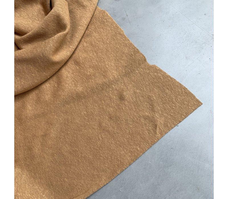 Linen Jersey Dusty Camel