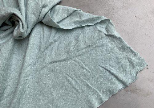 La Maison Victor Linen Jersey Dusty Mint