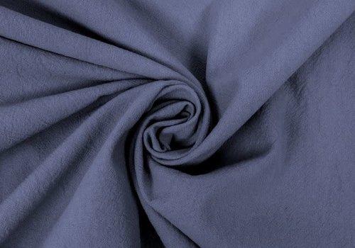Wrinkle Cotton Denimblue