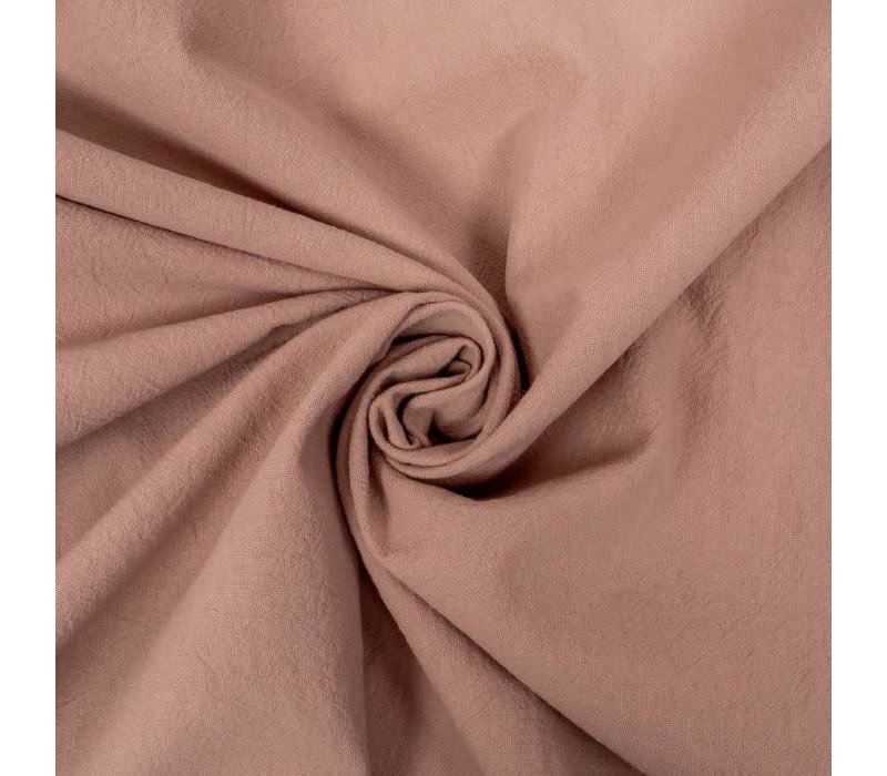 Wrinkle Cotton Old Pink