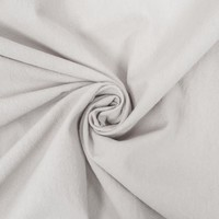 Wrinkle Cotton White