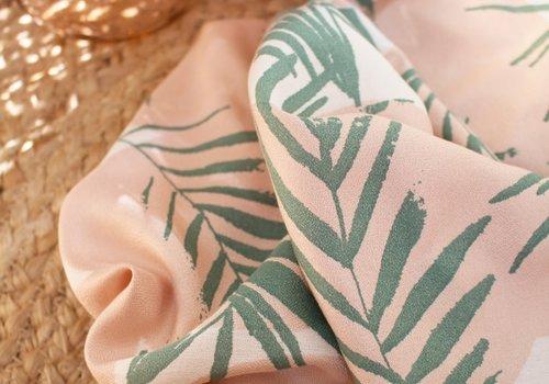 Atelier Brunette Viscose Crêpe canopy cactus