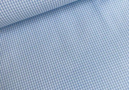 Cotton Mini checks vichy Blue