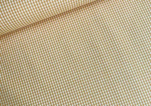 Cotton Mini checks vichy Orange