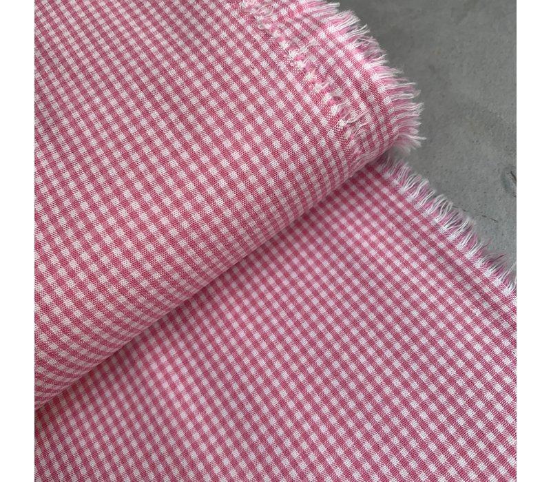 Cotton Mini checks vichy Pink