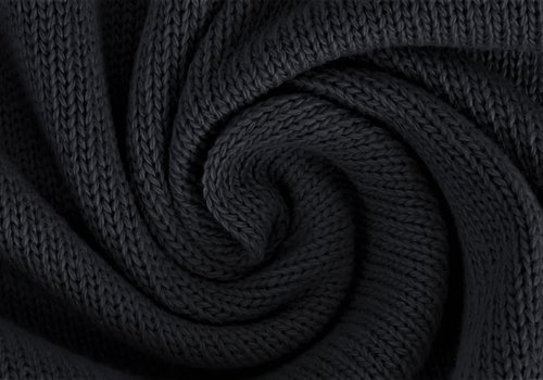 Knitted Cotton Black