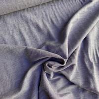 Viscose Interlock Woven Blue