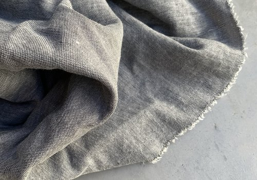 De Stoffenkamer Viscose Interlock Woven Grey