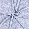 De Stoffenkamer Tricot Mini Flowers Light Blue