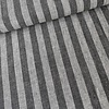 De Stoffenkamer Linen Mix Stripes Grey