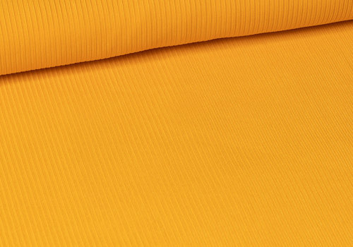 Fibre Mood Ribbed jersey Warm Yellow