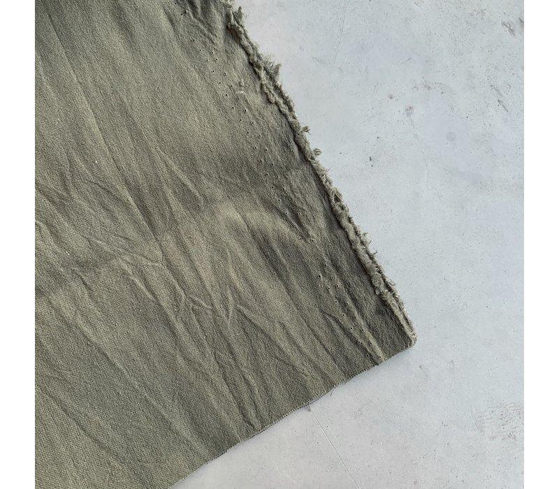 Wrinkle Cotton khaki grey