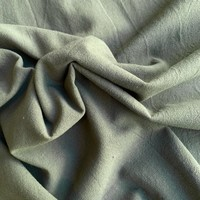 Wrinkle Cotton khaki grey