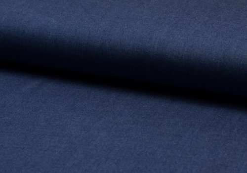 De Stoffenkamer viscose chambray washed blue