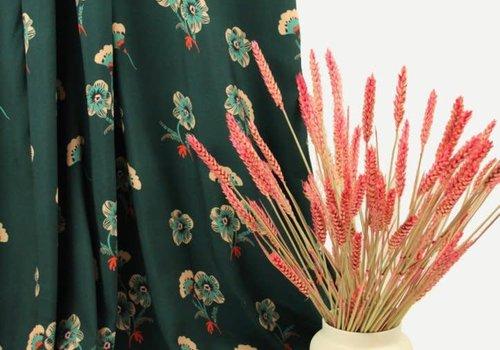 Atelier Jupe Viscose Sweet Flowers